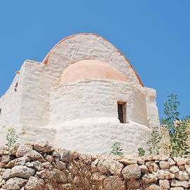 David Fowler - Castle chapel on Halki