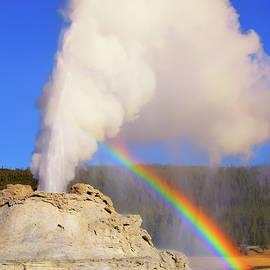 Castle Geyser Rainbow
