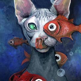 Akiko Okabe - Cat And Fish