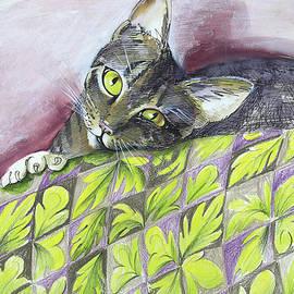 Vali Irina Ciobanu - Cat being sweet