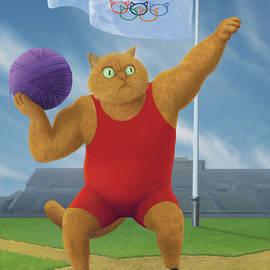 Cat Olympics by Shai Biran