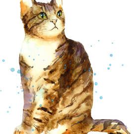 Cat Painting - Alison Fennell