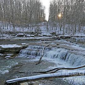 Steve Gass - Cataract Falls, Winter In Indiana