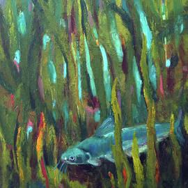 Catfish by Art Nomad Sandra Hansen