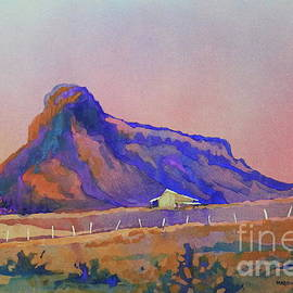Cathedral Mountain by Marsha Reeves