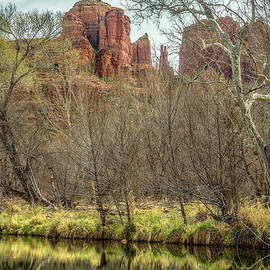 Cathedral Rock And Oak Creek by Belinda Greb