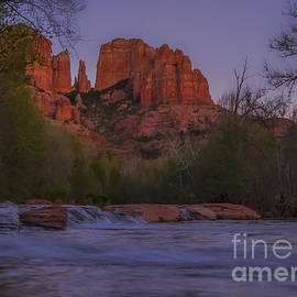 Amy Sorvillo - Cathedral Rock at Dusk