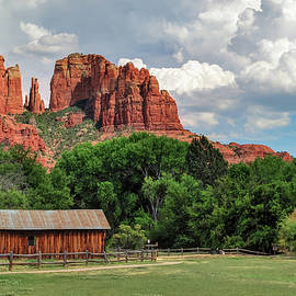 Gregory Ballos - Cathedral Rock - Red Rock Crossing - Sedona Arizona