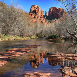 Teresa Zieba - Cathedral Rock Reflections