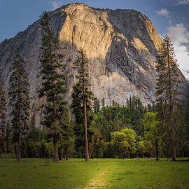 Gareth Burge Photography - Cathedral Rocks path, Yosemite National Park