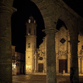Joan Carroll - Cathedral Square Havana Cuba