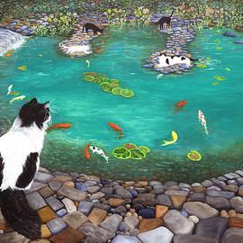 Cats and Koi by Karen Zuk Rosenblatt