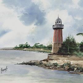 Cayman Lighthouse by Sam Sidders