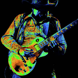 Cdb Winterland 12-13-75 #60 Enhanced In Cosmicolors by Ben Upham