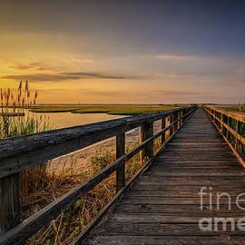 Cedar Beach Pier, Long Island New York by Alissa Beth Photography