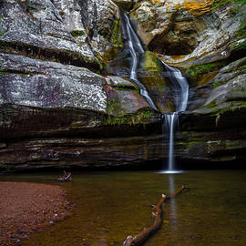 Cedar Falls in Hocking Hills State Park by Ron Pate