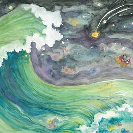 Lynn Maverick Denzer - Celestial Sky and  Big Wave