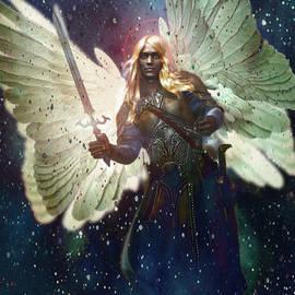 Celestial Vision Saint Gabriel by Suzanne Silvir