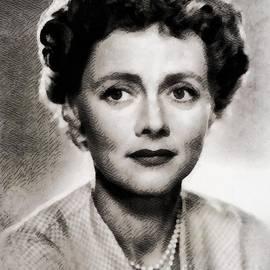 John Springfield - Celia Johnson, Vintage Actress by John Springfield