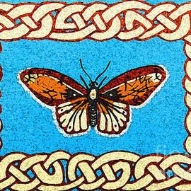Celtic Butterfly by Lise Winne