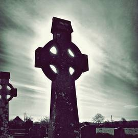 Patricia Strand - Celtic Crosses in a Graveyard