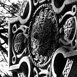 Celtic Detail by Brenda Conrad