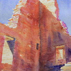 Chaco Windows, Shadows, Sky by Marsha Reeves