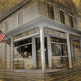 Chadsworth General Store Chatsworth New Jersey by Geraldine Scull