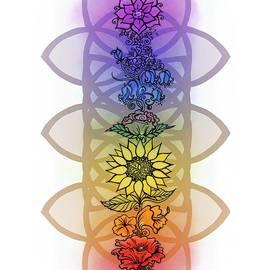 Chakra Flowers by Katherine Nutt