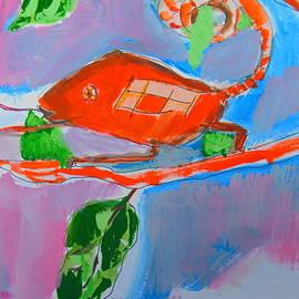 Samuel Zylstra - Chameleon and Fly