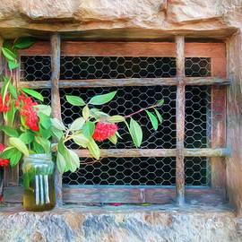 Joan Carroll - Chapel Window Orvieto Italy