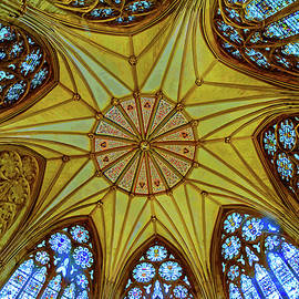 Chapter House Ceiling, York Minster - 2 by Brian Shaw