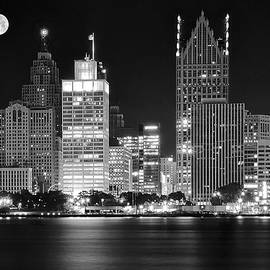 Frozen in Time Fine Art Photography - Charcoal Detroit