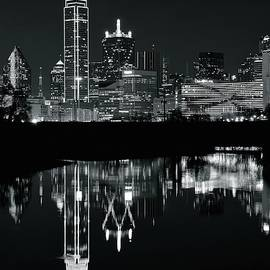 Frozen in Time Fine Art Photography - Charcoal Night in Dallas