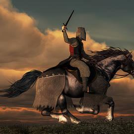 Charging Knight by Daniel Eskridge