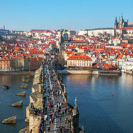Jenny Rainbow - Charles Bridge Across Vltava River. Prague