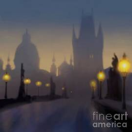 Charles Bridge Prague by Alexander Sydney