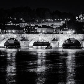 Joan Carroll - Charles Bridge Prague Night