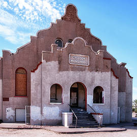 Charles H. Cook Memorial Church In Sacaton Az by Edward Peterson