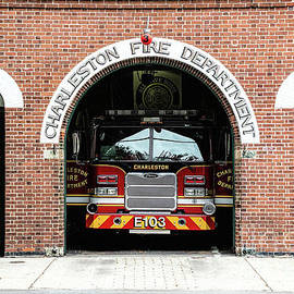 Sharon McConnell - Charleston Fire Department Central Station, Engine 103