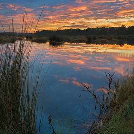 Keith Briley - Charleston South Carolina Lowcountry Marsh Sunset Scene