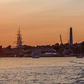 Brian MacLean - Charlestown Navy Yard Sunset