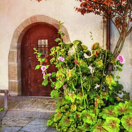 Charming Old Door in Basel