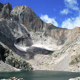 Chasm Lake, Longs Peak, Colorado by Derrick Neill