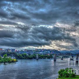 Reid Callaway - Chattanooga Panorama Lookout Mountain Sunset Art