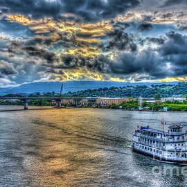 Reid Callaway - Chattanooga Sunset Cruse Tennessee River Art