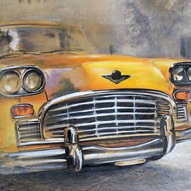 Checker Taxi by Vali Irina Ciobanu
