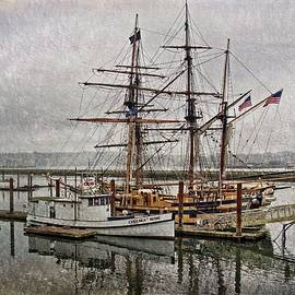 Chelsea Rose And Tall Ships by Thom Zehrfeld