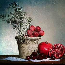 Cherries and Pommegranates by Levin Rodriguez