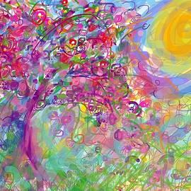 Cherry Blossom Tree by Alida M Haslett